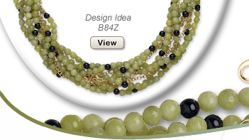 Design Idea B84Z Necklace and Earring Set