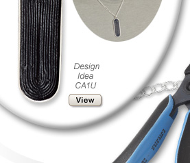Design Idea CA1U Necklace, Cuff Links and Ring