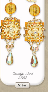 Design Idea A692 Earrings