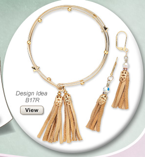 Design Idea B17R Necklace and Earring Set