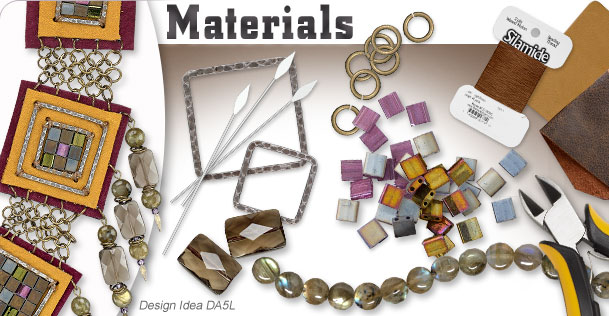 Materials and Components in the Spring/Summer 2014 Jewelry-Making Foundation Trend