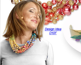 Design Idea D10F Necklace and Earrings