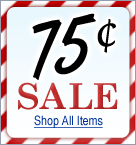 75 cents or Less Sale!