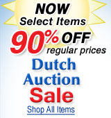Dutch Auction Sale Final Weekend