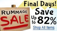 Rummage Sale - Final Days!