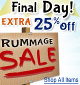 Rummage Sale Additional 25%