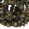 Bead, labradorite (natural), small chip, Mohs hardness 6 to 6-1/2. Sold per 36-inch strand.