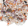 Embellishment, multi-gemstone (natural / dyed), mini to small undrilled chip. Sold per 50-gram pkg. Minimum 8 per order.